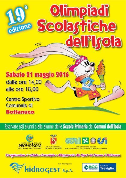 Olimpiadi Scolastiche di PromoIsola
