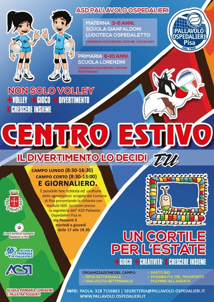 Centro Estivo e Volley Camp