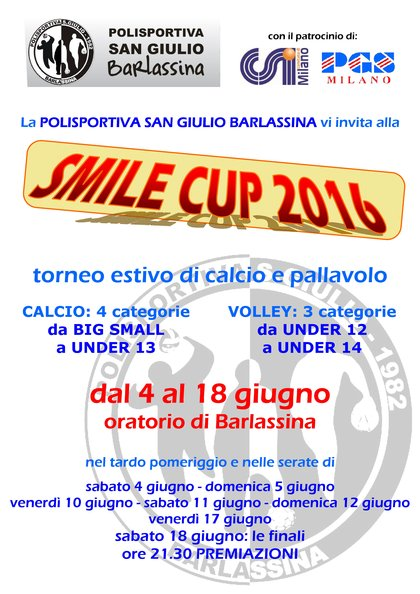 SMILE CUP 2016