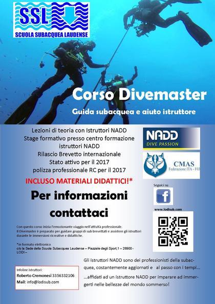 Corso Divemaster NADD - CMAS