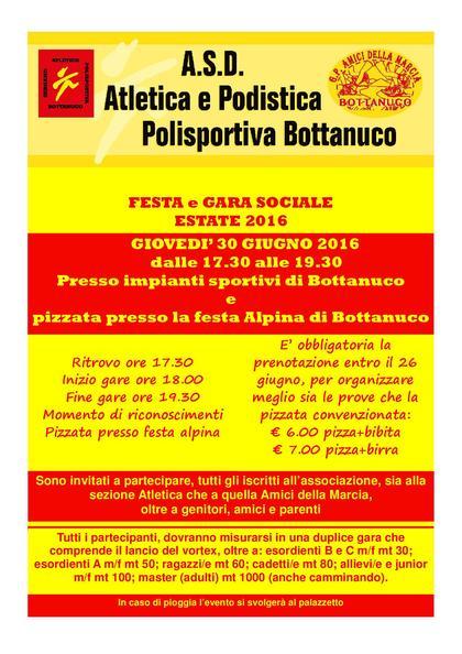 FESTA E GARA SOCIALE 2016