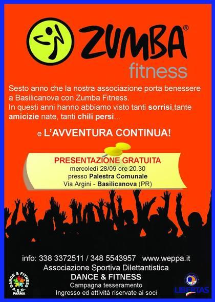 Basilicanova - Presentazione Zumba Fitness