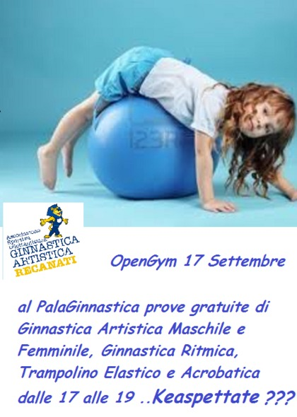Open Gym 17 Settembre 2016