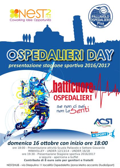 Ospedalieri Day, presentazione stagione sportiva
