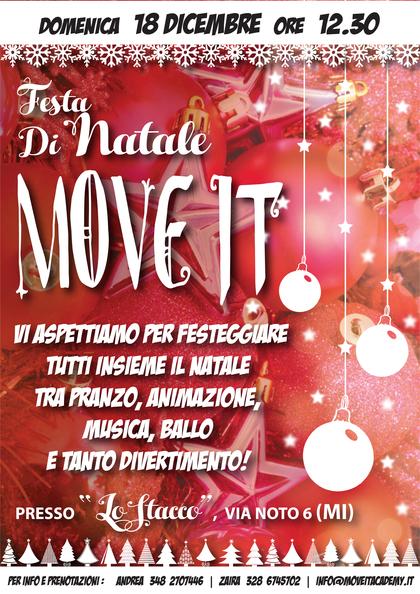 PRANZO DI NATALE MOVE IT