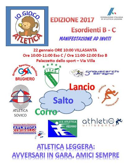 GIOCOATLETICA WINTER