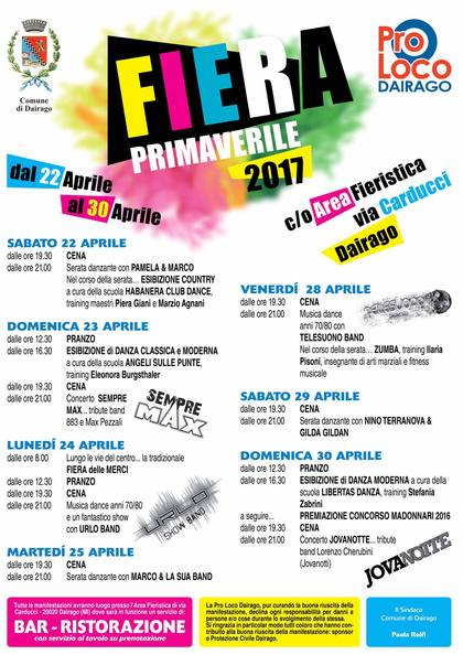 Fiera Primaverile 2017