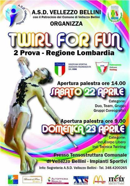 2^ gara settore Promozionale - Twirl for fun - Lombardia
