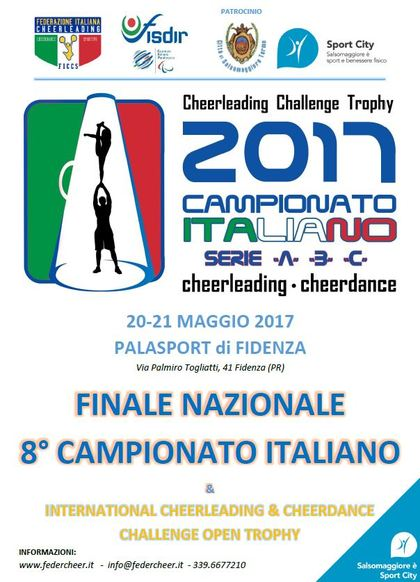 FINALE 8° Camp. It.Assoluto Cheerleading & Cheerdance