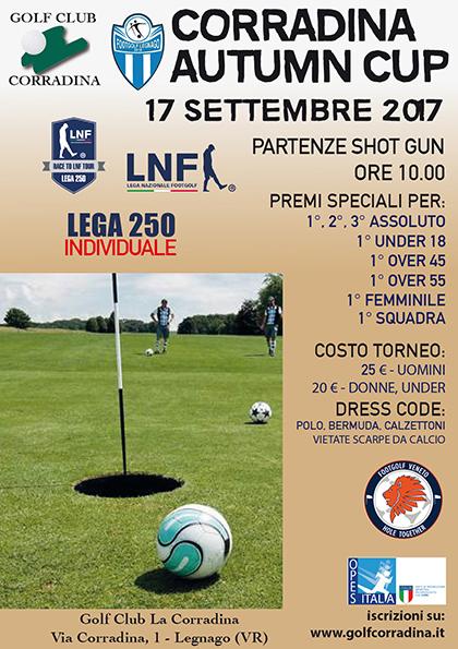 Corradina Autumn Cup - LEGA 250 Individuale
