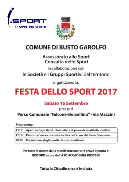 Festa dello Sport Busto Garolfo