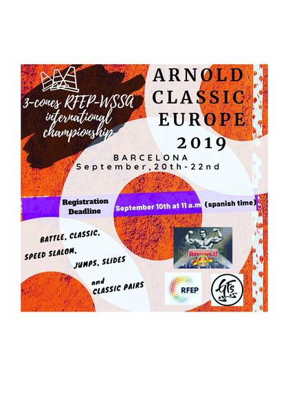 WSSA - Arnold Classic Europe