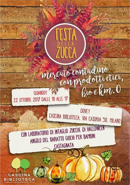 Festa della zucca - Mercato contadino con prodotti etici, bio e km 0