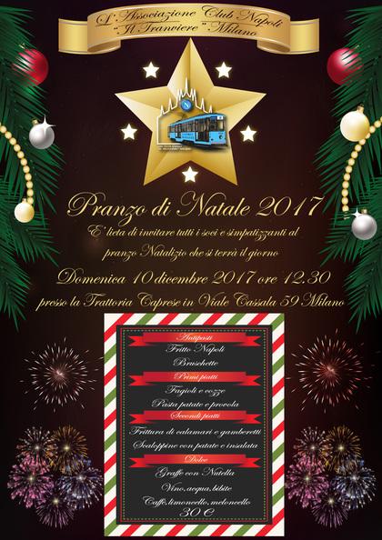 Pranzo Natalizio 2017