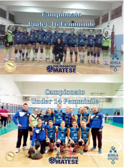 Semifinali Under 14 e Under 16 Femminile