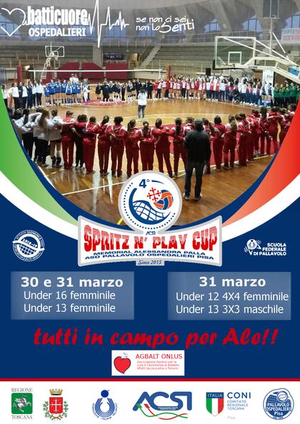 Spritz 'N Play Cup, memorial Alessandra Palla