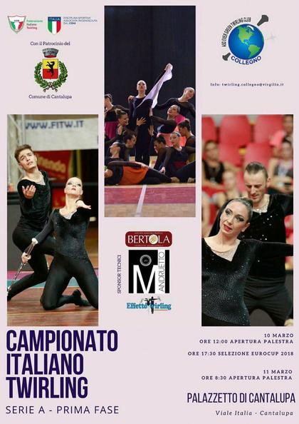 Campionato Italiano Twirling Serie A - 1 Prova