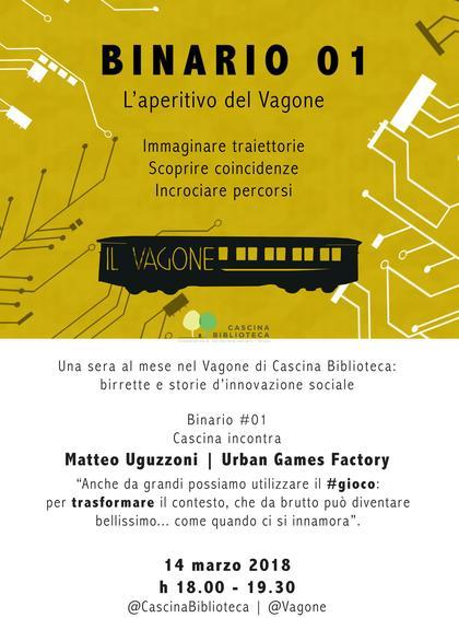 Binario #01: Storie di innovazione al Vagone