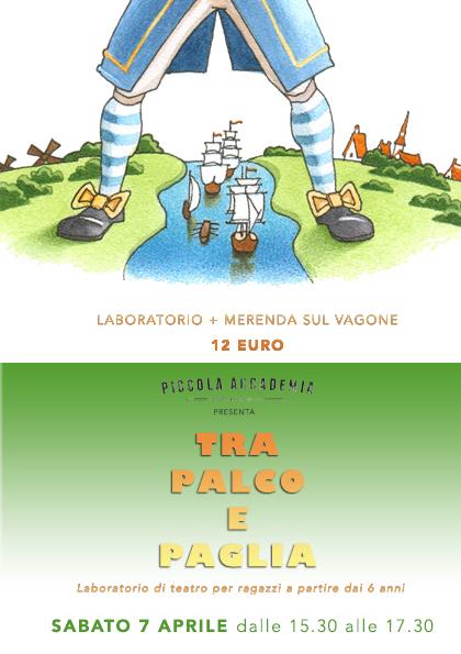 TRA PALCO E PAGLIA laboratorio di teatro 6-11 anni