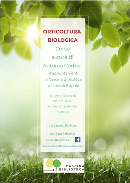 CORSO DI ORTICULTURA BIOLOGICA