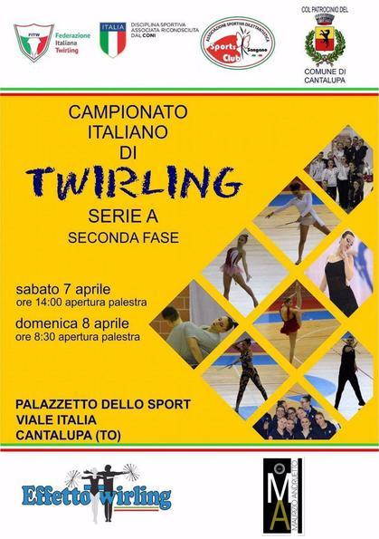 Campionato Italiano Twirling Serie A - 2 Prova
