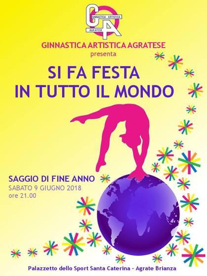 Saggio 2018 - SI FA FESTA IN TUTTO IL MONDO