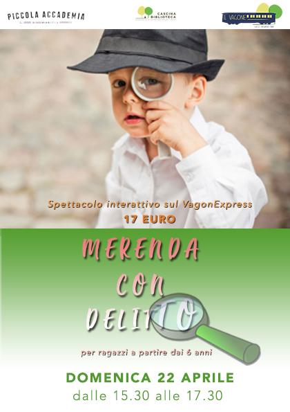 MERENDA con DELITTO sul VagonEXPRESS#2