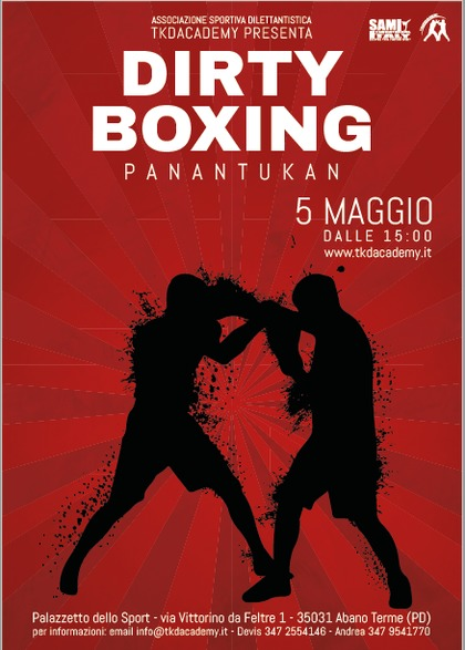 Dirty Boxing: Stage di Panatukan Concept