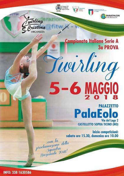 Campionato Italiano Twirling Serie A – 3 Prova