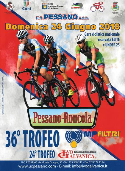 Pessano-Roncola Gara Elite-Under 23 36° Trofeo MP Filtri