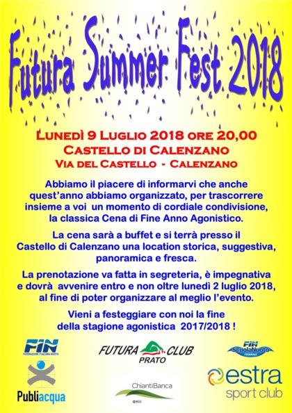 FUTURA SUMMER FEST 2018