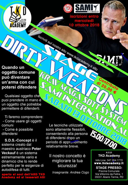 Stage Dirty Weapons
