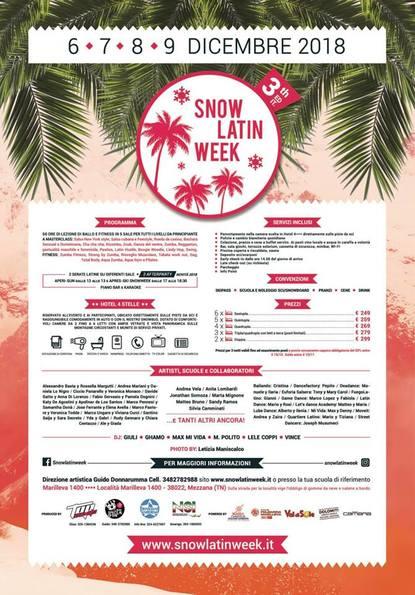 SNOW LATIN WEEK
