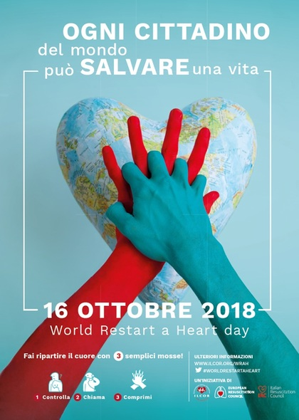 World Restart A Heart Day