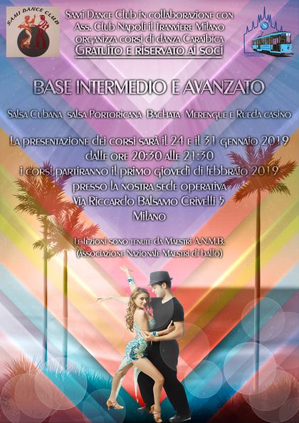 Corsi gratuiti di balli Caraibici riservato ai soli soci