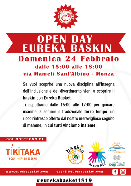 Open Day Baskin
