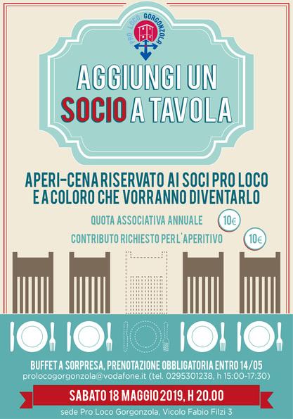 AGGIUNGI UN SOCIO A TAVOLA