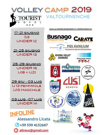 VOLLEY CAMP 2019 | Valtournenche