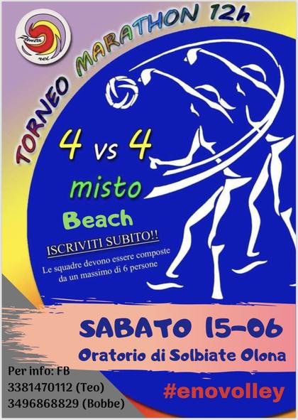 Volley Marathon - Beach