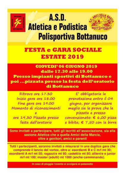 FESTA e GARA SOCIALE 2019