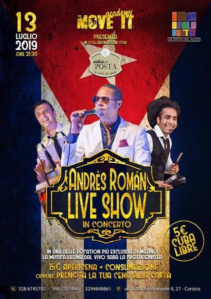Andrés Roman live show