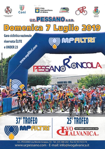 PESSANO RONCOLA 37° TROFEO MP FILTRI