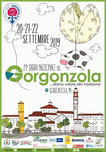 SAGRA NAZIONALE DEL GORGONZOLA 2019