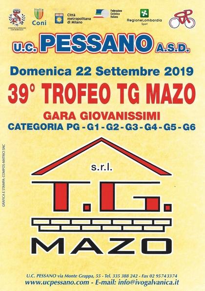 39^ TROFEO TG MAZO - Gara Giovanissimi