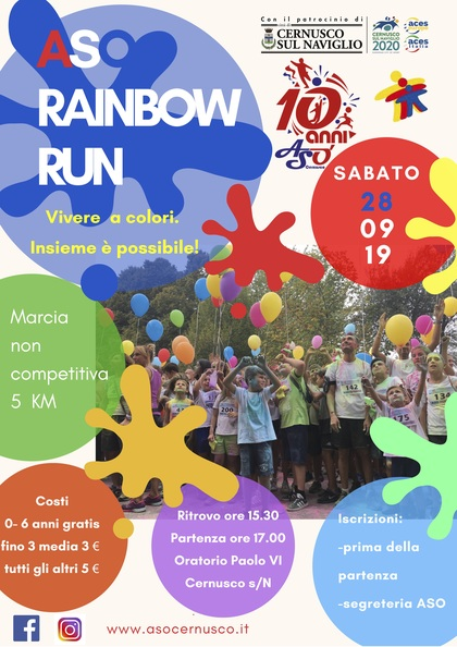 ASO RAINBOW RUN