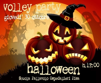 Halloween volley party