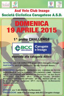 1^Prova Challenge BCC Carugate e Inzago