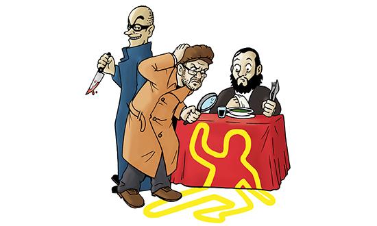 Il Killer del Gorgonzola - cena con delitto