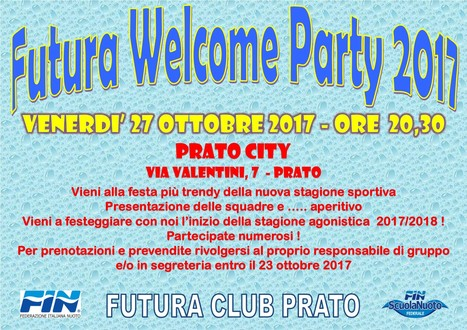 FUTURA WELCOME PARTY 2017