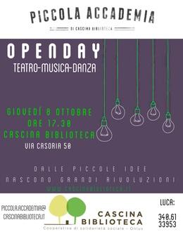 Open day Piccola Accademia